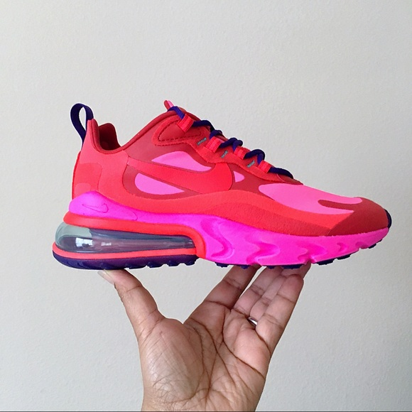 Nike Shoes Air Max 270 React Crimson Red Poshmark